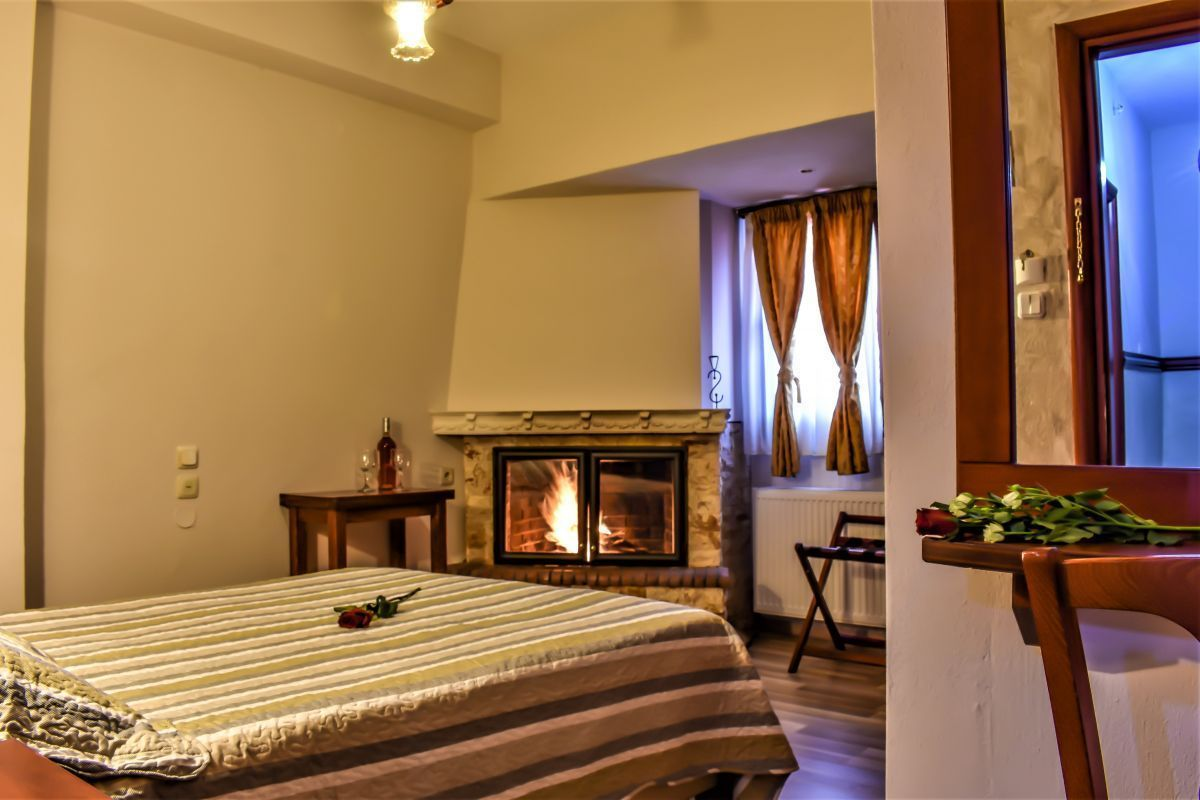 Double rooms with fireplace